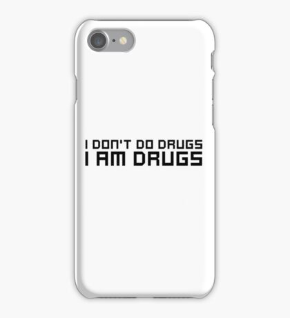 Drugs Party EDM Electronic Music Weed Cool Funny Ironic Comedy iPhone Case/Skin