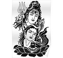 Shiva parvati ji Poster