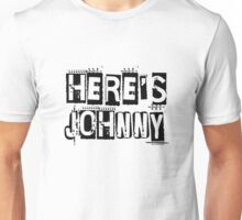 Heres Johnny The Shining Horror Quote Movie Unisex T-Shirt