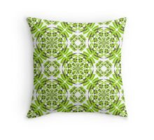 Fresh geometric pattern Throw Pillow