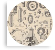 Tooldisk Canvas Print