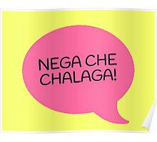 NEGA CHE CHALAGA - PINK Poster