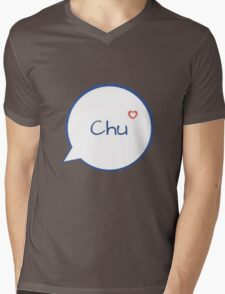 CHU - LIGHT BLUE Mens V-Neck T-Shirt