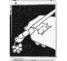 Pen,pigeon and flower iPad Case/Skin