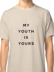 Troye Sivan Youth lyrics aesthetic Classic T-Shirt
