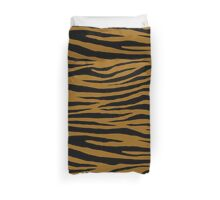 0289 Golden Brown Tiger Duvet Cover