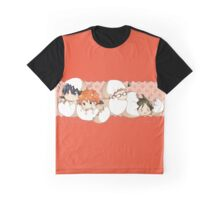 Haikyuu!! - Chibi Haikyuu!! Anime Graphic T-Shirt