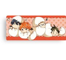 Haikyuu!! - Chibi Haikyuu!! Anime Canvas Print