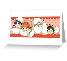 Haikyuu!! - Chibi Haikyuu!! Anime Greeting Card