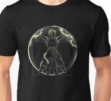 Vitruvian Saiyan (Gohan) Unisex T-Shirt