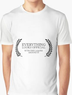 Festival Funny Movies Comedy Quote Clever Smart Graphic T-Shirt