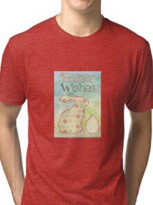 Easter wishes Tri-blend T-Shirt
