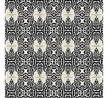 Trippy Patterns Intensive Columns Photographic Print