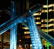 Vancouver - 2010 Olympic Cauldron Lit at Night Sticker