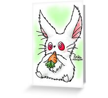 Cute Bunilla Greeting Card