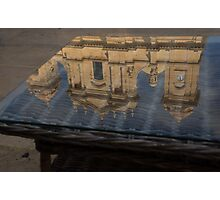 Reflecting on Noto and the Beautiful Sicilian Baroque Style Photographic Print