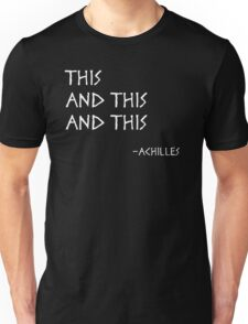 This and This and This Unisex T-Shirt
