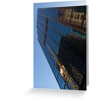 Reflecting on Skyscrapers - Downtown Affection Greeting Card