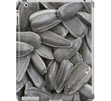 sunflower seeds  macro iPad Case/Skin