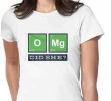 OMG! Did She?  Womens Fitted T-Shirt