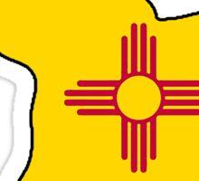 New Mexico flag elephant Sticker