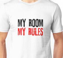 My Room My Rules Kids Punk Rock Mum Dad Family Grunge Unisex T-Shirt