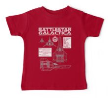BATTLESTAR GALACTICA COLONIAL VIPER Baby Tee