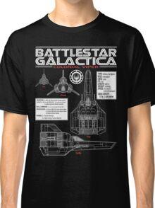 BATTLESTAR GALACTICA COLONIAL VIPER Classic T-Shirt