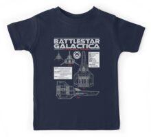 BATTLESTAR GALACTICA COLONIAL VIPER Kids Tee