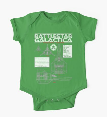 BATTLESTAR GALACTICA COLONIAL VIPER One Piece - Short Sleeve