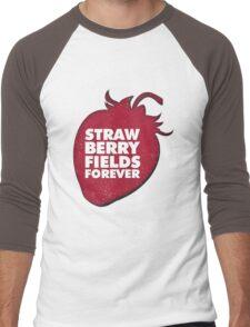 Strawberry Fields Forever T-shirt Men's Baseball ¾ T-Shirt