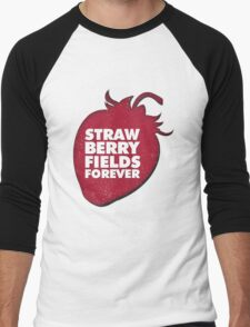 Strawberry Fields Forever T-shirt Men's Baseball ¾ T-Shirt