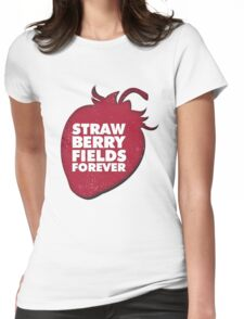 Strawberry Fields Forever T-shirt Womens Fitted T-Shirt