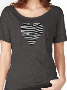 0294 Gray (X11) Tiger Women's Relaxed Fit T-Shirt