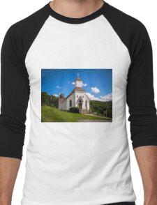 Pocahontas Catholic  Men's Baseball ¾ T-Shirt