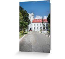 Saint Mary's Church, Bridgetown, Barbados Greeting Card