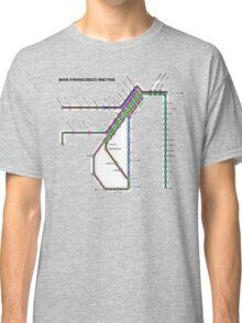 San Francisco Metro Classic T-Shirt