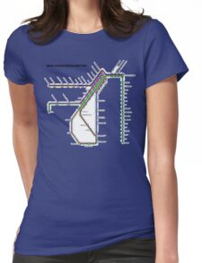 San Francisco Metro Womens Fitted T-Shirt