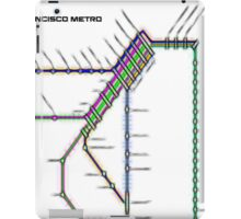 San Francisco Metro iPad Case/Skin