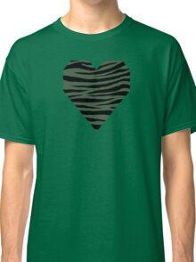 0295 Gray Asparagus Tiger Classic T-Shirt