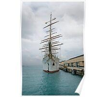 Traditional Sailing Ship, Sea Cloud Poster