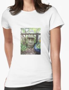 New Zealand Stone Head Womens Fitted T-Shirt