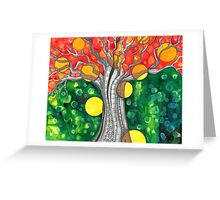 The Fae Tree      Earth Day Greeting Card