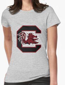 south carolina logo Womens Fitted T-Shirt
