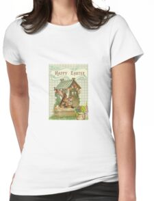Easter card Womens Fitted T-Shirt