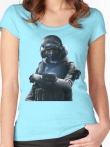 Rainbow Six Vegas *I.Q* Women's Fitted Scoop T-Shirt