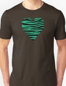0296 Green (Crayola) Tiger Unisex T-Shirt