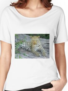 Leopard Women's Relaxed Fit T-Shirt
