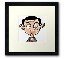 Mr. Bean Framed Print