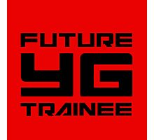 FUTURE YG TRAINEE - RED Photographic Print